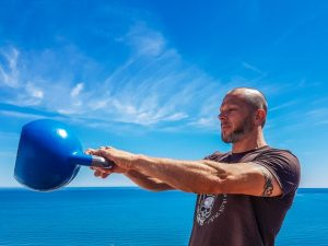 Kettlebell workout - swing