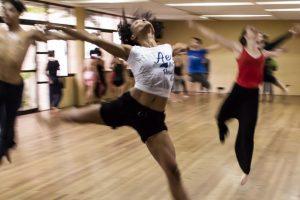 People doing Zumba dance