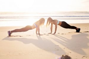 beach workouts
