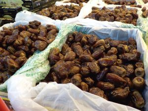 Dates in a market