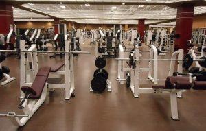 a professional gym
