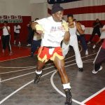 Tae Bo exercises for beginners with Billy Blanks himself