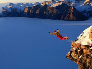 We couldn't write a top 10 most popular extreme sports list without mentioning BASE jumping.