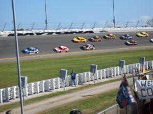 A NASCAR race
