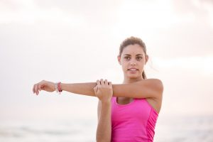post-workout stretching for improved bloodflow