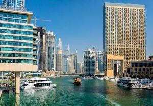 The Dubai Marina - one of the best running tracks in Dubai.