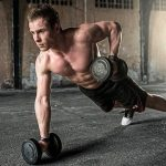 gym workout routine for men starts with showing up every time