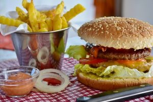 junk food not being among ways to improve your health