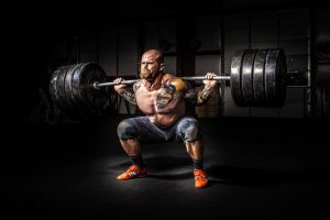 elite athlete heavy lifter