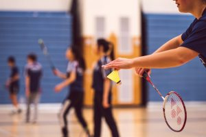 badminton - a popular sport in Dubai