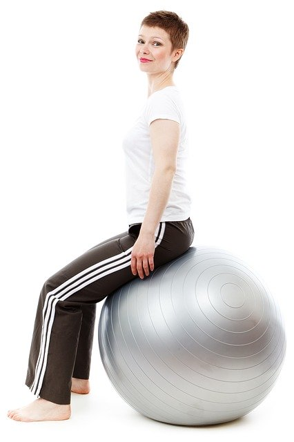 women picks for exercise ball workouts