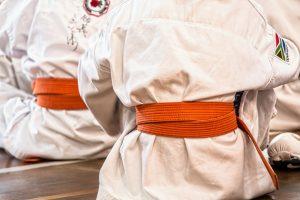 A karate uniform.