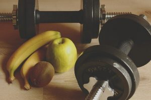 Weights and fruits