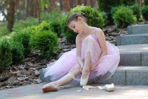 A little ballerina.
