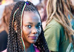 a Reggae woman