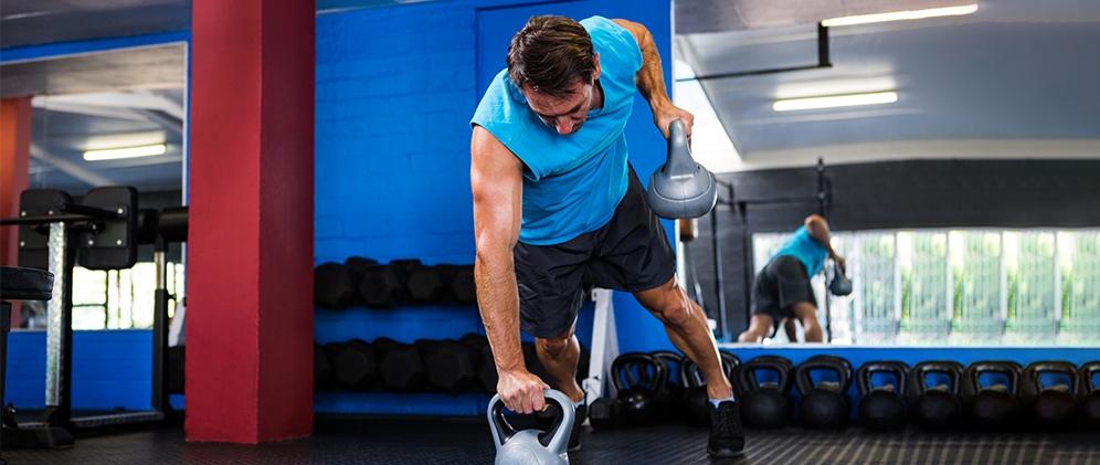 a training gym