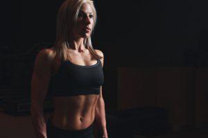 Woman athlete.