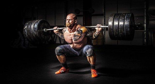 a weightlifter