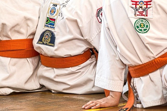 people in kimonos who can help you plan your karate training