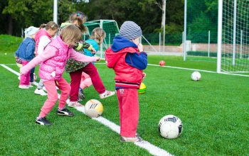 One of the ways to help your kids develop strong bones - Physical activity!