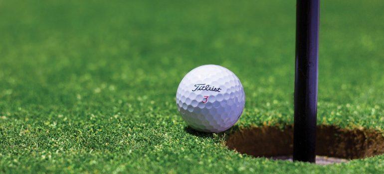 golf ball as a part of Leisure Show Dubai 2021