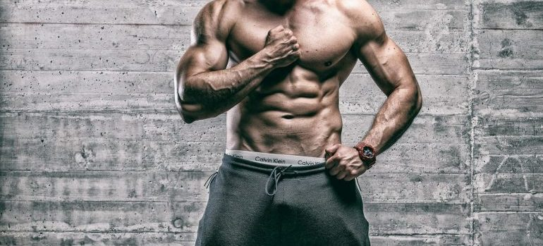male fitness trainer