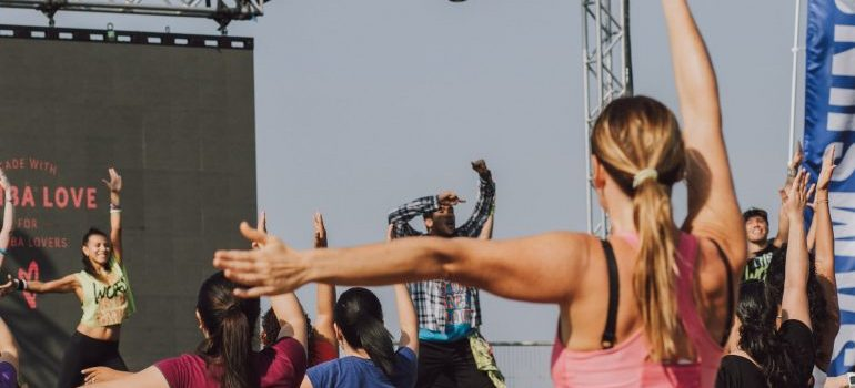 fitness advice from celebrities that concern Zumba