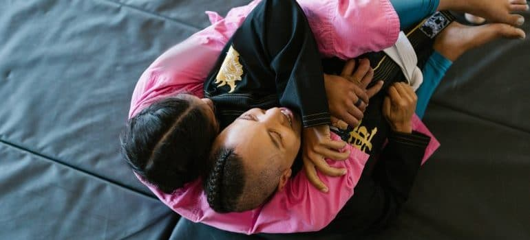 martial arts as one of thesports for kids with motor issues