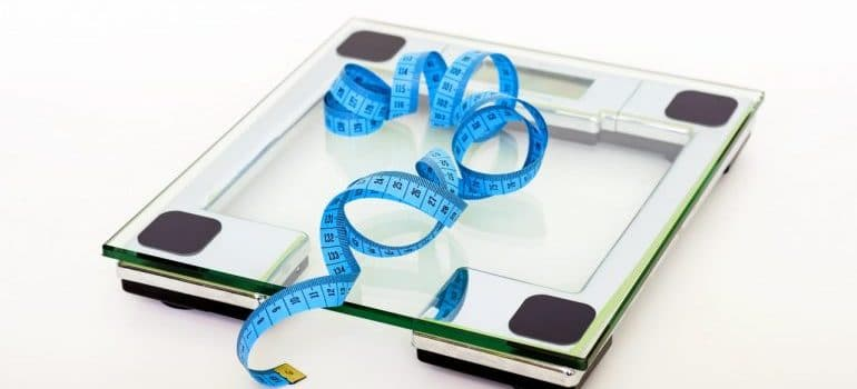 Scale for weight measurement