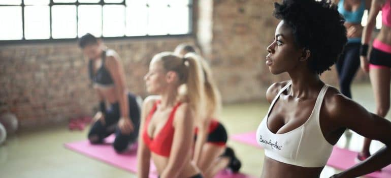 women who know about fitness classes every woman should try