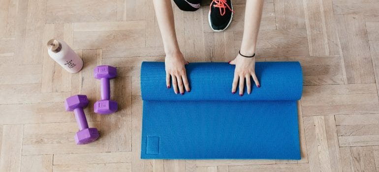 home workouts for busy moms
