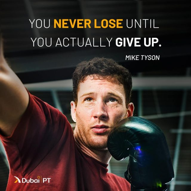 Not giving up on your goals is the only way for you to win. DUBAIPT.COM will be there for you when you do.⁣ ⁣ #dubaipersonaltrainer #dubaipersonaltrainers #dxbliving #dxblifestyle