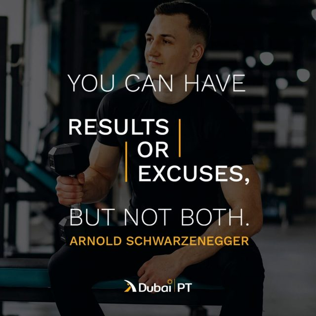 Results will come if you are trying to reach them, and all you need to do is never give up. This is the only way to ensure you meet your every goal.⁣ ⁣ #dxb #uae #mydubai #dubaistyle #dxblife #mydxb#exercisemotivationquotes #workoutmotivationquotes #workoutmotivation