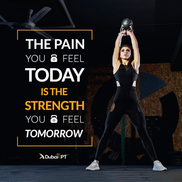 You have to train and push yourself harder every day so you can be sure that you will reach all your goals. There is nothing for you to worry about this way.⁣ ⁣ #exercisemotivationquotes #workoutmotivationquotes #workoutmotivation #dxblife #mydxb #dxbliving #dxblifestyle