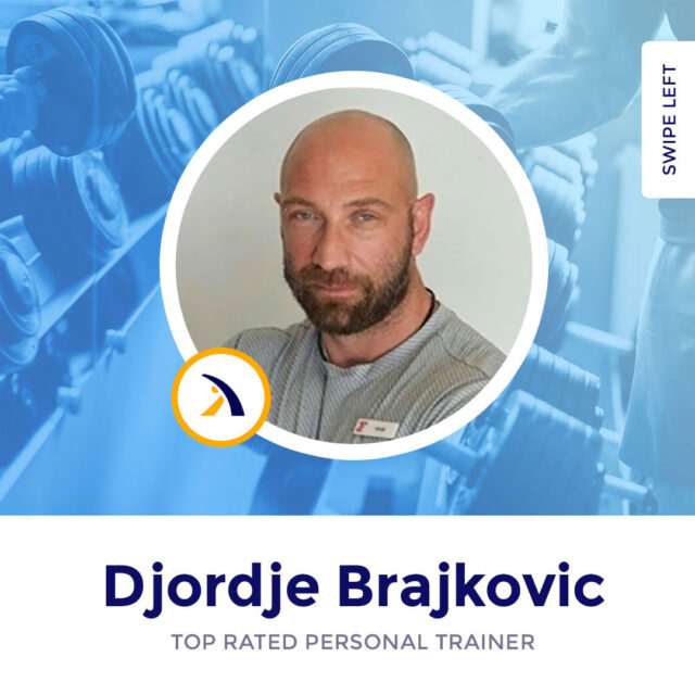 Meet Djordje - an internationally certified premium personal trainer, specialized in weight lifting and cardio training. Experienced in gym workouts, outdoor and in-house sessions, Djordje is also masterful in organizing training programs for kids and teenagers.⁣ ⁣ Follow the link in our bio to check out his profile and schedule your free session.⁣ ⁣ dxblife, dubaipersonaltrainer, dubaipersonaltrainers, dubaipt, dubaipersonalcoaching, dxbtrainer, dxbtraining