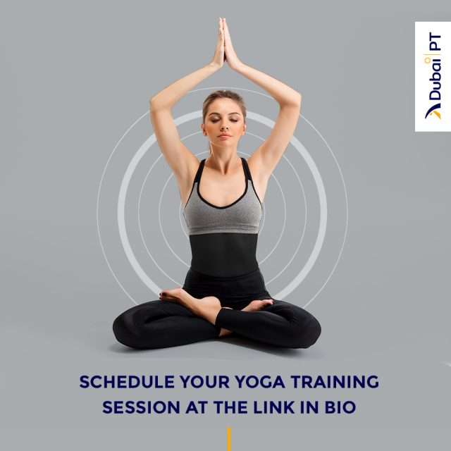 When faced with stress, many people decide to turn to Yoga, but other than being relaxing, this activity is also an amazing way to strengthen your core and become more flexible. Schedule your first complimentary training session with one of our personal trainers and enjoy the benefits of Yoga.⁣ ⁣ #dubaipt #dubaipersonaltrainers #yoga #yogatrainingsession #personaltrainers