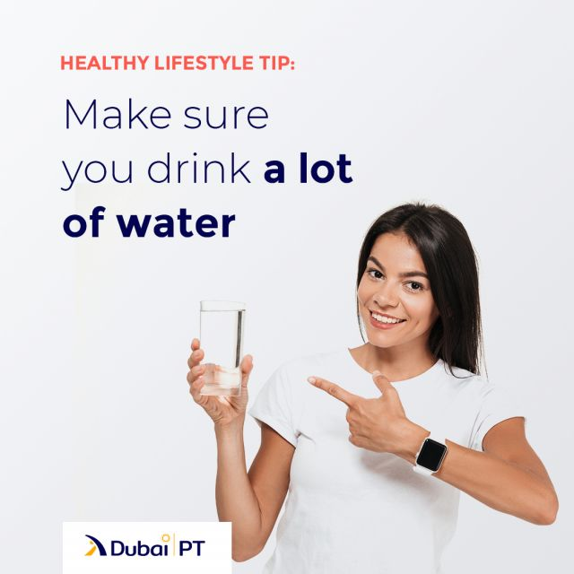 Make sure that you drink enough water throughout the day. Enough water can flush out the fat from your body and make your skin glow. Moreover, it helps detox the liver.⁣ ⁣ #healthytips #lifestyletips #dubaipt #dubaipersonaltrainers