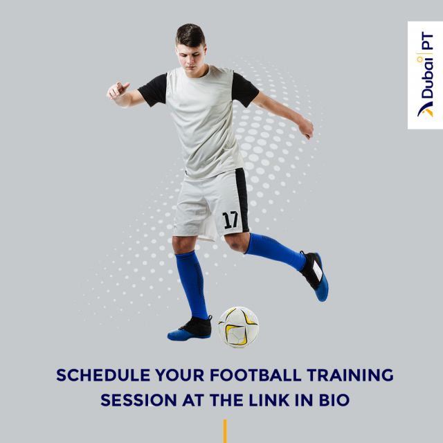 Other than its many physical benefits, Football can be great for your mental health as well. Playing in a team and having a routine you enjoy can trigger positive feelings and make you feel much better after the game. Make sure you check the link in our bio to learn more and schedule your first complimentary training session with one of our personal trainers.⁣ ⁣ #football #trainingsessions #dubaipt #dubaipersonaltrainers