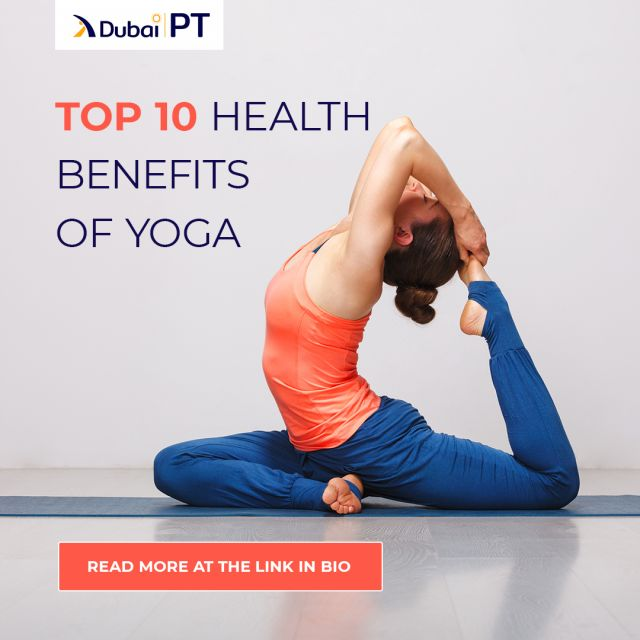 Yoga is known to be one of the best exercises that relax the mind as well as the body, because of its meditation-like effects. Other than that, there are many more health benefits of practicing Yoga, so make sure you check the link in our bio to learn more about it.⁣ ⁣ #yoga #yogabenefits #yogapractice #meditation #health #dubaipt #dubaipersonaltrainer