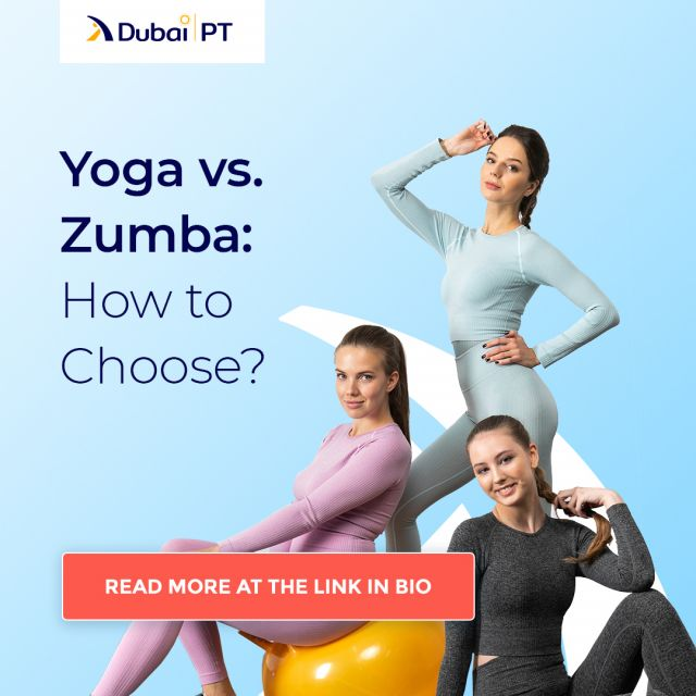 Zumba and Yoga are both popular activities with many health benefits. And yet, they are complete opposites when it comes to the way they are practiced. If you are conflicted about which one to choose, make sure you hit the link in our bio and learn more about both of these activities.⁣ ⁣ #zumba #yoga #zumbavsyoga #dubaipt #dubaipersonaltrainers