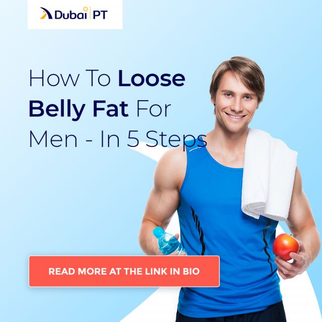 Losing weight is a long and hard process. And you can only imagine how it can be to lose stubborn belly fat. For that reason, we have prepared this article on how to lose belly fat in just five easy steps. Hit the link in bio to learn more.  #bellyfat #fitness #fitnesstips #loosingweight #dubaipt #dubaipersonaltrainers
