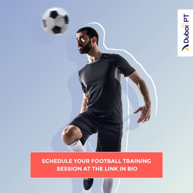 Playing Football provides numerous advantages, such as improving your strength, endurance, and many more. Schedule your first complimentary Football training session with one of our personal trainers and enjoy the benefits of it.   #footballtraining #footballdubai #dubaipt #dubaipersonaltrainers