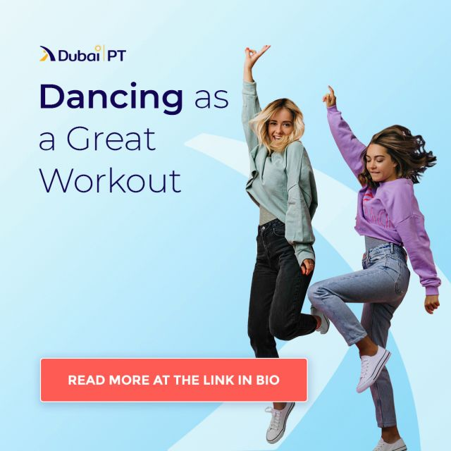 One of the best ways to lose weight is to dance. Dancing is a holistic exercise that allows us to engage every muscle in our body. Aside from losing weight, dancing also helps reduce stress levels, improves sleep, and cardiovascular health.  Learn more about this topic by following the link in our bio.   #dancing #workout #dubaipt #dubaipersonaltrainers #personaltrainerdubai