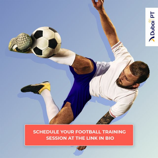 Playing football at least three times a week may yield significant health benefits, including weight loss and lower BMI. This is to say nothing of the psychological confidence and social boosts that it may provide you as well.  Follow the link in our bio and schedule your first Football training session with one of our personal trainers.    #footballtraining #footballcoach #soccerpractice #soccertraining #footballpractice #footballdubai #dubaifootball #dubaipt #dubaipersonaltrainers #personaltrainerdubai
